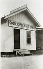 Goose Creek State Bank around 1920