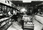 Katribe Pharmacy interior, 1920s or 30s.