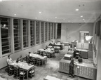 Library reading room, Lee College Open House, October 1951
