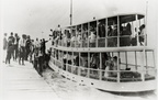 The Nicholaus boat taking passengers to Humble Day celebration, May, 1921