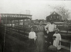 People on the Lynchburg ferry, early 1900s