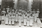 Elementary school music students in 1930