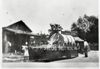 Booster Club parade float, 1934