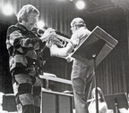 "Famous trumpeter Carl ""Doc"" Severinsen"