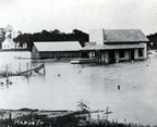 Belcher's Store during a May 1914 flood
