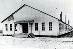 """The Barn"", the first school house  for Goose Creek Schools"