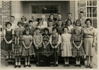 Anson Jones fifth grade, 1961-62