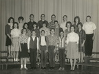 Horace Mann eighth grade, 1964-65