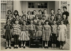 Anson Jones Fourth Grade, 1960-61