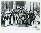 Humble Oil & Refining Company marching band, circa 1940