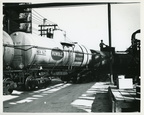 Train Crossing Inside Humble's Baytown Refinery, 1940s