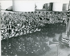Crowd at Billion Gallon Day, December 14, 1944