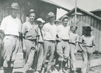 First crew of men to work at Baytown Refinery, 1919