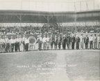 Humble Oil & Refining Company Band at Oiler Stadium, 1930.